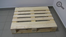 Special shape pallet